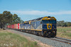 9375 at Mywee (Henry's Railway Gallery) Tags: g515 b76 g512 gclass bclass emd diesel clyde cfcla chicagofreightleasingaustralia qubelogistics freighttrain containertrain 9375 tocumwal mywee