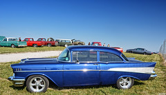 1957 Chevy Bel Air (Chad Horwedel) Tags: 1957chevybelair chevybelair chevrolet chevy belair classic car hrpt17 newton