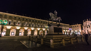 Night lights in Turin