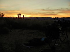 Sunrise 2018 (Capricorn Bicycles) Tags: bicycle bike touring tour bikepacking california desert mojave pinnacles sunrise nature beauty geology