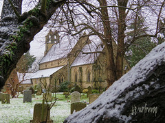 Snow Dusted Holy Trinity Leverstock Green. (Danny Lon89) Tags: 2018 uk flickr hertfordshire canon snow