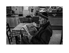 (Perilouc) Tags: bw monochrome portrait candid unposed village greekvillage pelion blackandwhite bnw monotone