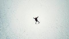 59/365 - snow angel (possessed2fisheye) Tags: possessed2fisheye scottmacbride scott creativeselfportrait creative creativephotography creativeportrait selfportrait self aerial aerialphotography snow snowangel snowday 365 365project project365 2018 2018365project 365project2018