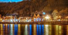 Casino Namur (HDR) (ΨᗩSᗰIᘉᗴ HᗴᘉS +22 000 000 thx) Tags: casino namur hdr 3exp color landscape wallonie water waterscape meuse