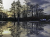 20180126-The evening is waiting (Damien Walmsley) Tags: pebblemill reflections evening trees sunset tgif sky clouds
