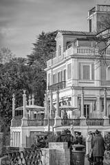 Villa Medici, Rome (kitchener.lord) Tags: italy rome impressions travel 2018 55200fujinon blackwhite