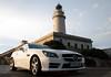 Mercedes-Benz SLK at Cap Formentor, Majorca, Spain (OnTheRoadAgainBlog) Tags: mercedes benz mercedesbenz slk cabrio convertible capformentor cap formentor majorca mallorca spain mediterranean sea lighthouse canon 400d