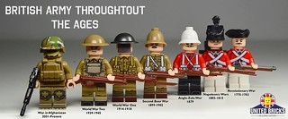 The British Army Throughout The Ages