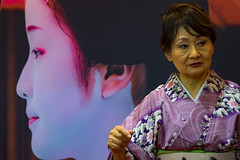 Generaciones japonesas (Merly_gon) Tags: fitur2018 mujeres tradiciones rostros imagenes