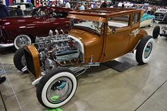 2018 Grand National Roadster Show (USautos98) Tags: 1927 ford modelt traditionalhotrod streetrod custom