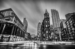 Home time (Sean X. Liu) Tags: monochrome blackandwhite blackwhite longexposure lowlight clouds cloudstreak city cityscape historical toronto ontario canada nightphotography