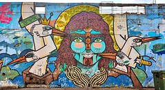 Cartagena wall mural (jdlasica) Tags: cartagena oldcartagena colombia cruise 2017 southamerica streetart mural wallmural