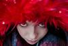 colored winter   l  2018 (weddelbrooklyn) Tags: farben bunt rot augen portrait gesicht kunstfell kapuze winter nikon d5200 35mm colors colored red eyes face fakefur hood