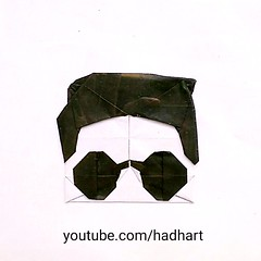 Origami Face/Wajah 'Psy-Gentleman' (Hadi Tahir) (haditahir) Tags: psy gentleman tutorial origami wajah face korea singer koreansinger gangnam paper paperfolding papercraft papiroflexia papier papierfalten ridwankamil bandung juara bandungjuara kertas kertaslipat