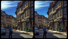 Wernigerode truss 3-D / CrossEye / Stereoscopy / HDR / Raw (Stereotron) Tags: sachsenanhalt saxonyanhalt ostfalen harz mountains gebirge ostfalia hardt hart hercynia harzgau wernigerode streetphotography architecture fachwerk halftimbered house stud work antiquated ancient medieval middleages europe germany crosseye crosseyed crossview xview cross eye pair freeview sidebyside sbs kreuzblick 3d 3dphoto 3dstereo 3rddimension spatial stereo stereo3d stereophoto stereophotography stereoscopic stereoscopy stereotron threedimensional stereoview stereophotomaker stereophotograph 3dpicture 3dglasses 3dimage twin canon eos 550d yongnuo radio transmitter remote control synchron kitlens 1855mm tonemapping hdr hdri raw