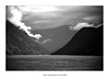 The Language of Clouds (YIP2) Tags: fjord norway mountain cloud weather skies mountains water sea coast bw norge landscape clouds seascape mist island
