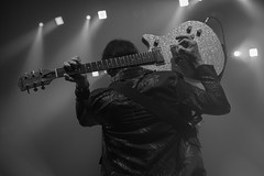 Keith Streng : guitar & vocal - the Fleshtones (samarrakaton) Tags: fleshtones concert concierto live directo antzoki bilbao bilbo 2018 rock guitar nikon d750 samarrakaton musica music bw byn monocromo blancoynegro blackandwhite