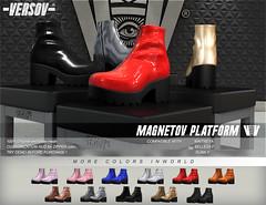 [ VERSOV ] MAGNETOV edition available at Kustom9 event (VERSOV STORE) Tags: versov magnetov platform