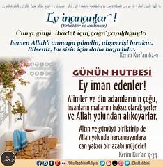 Happy Fridays (Oku Rabbinin Adiyla) Tags: allah kuran islam ayet ayetler kuranayetleri hadis dua namaz pray prayer god religion bible torah muslim rahman oku okurabbini