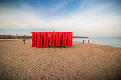 Obstacle by Kien Pham - Winter stations 2018 (A Great Capture) Tags: kienpham landscape sand outdoor public art structure red woodbinebeach beach beaches toronto 2018 winterstations obstacle artinstallation streetphotography streetscape photography streetphoto street calle architecture architektur arquitectura design vibrant colorful cheerful vivid bright outdoors waterscape wet water agua eau cloudy eos digital dslr lens canon rebel t5i agreatcapture agc wwwagreatcapturecom adjm ash2276 ashleylduffus ald mobilejay jamesmitchell on ontario canada canadian photographer northamerica torontoexplore winter l'hiver