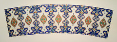 Curved tile panel - Iznik, Turkey (Monceau) Tags: curved iznik turkey decorative tile panels caloustegulbenkianmuseum