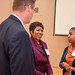 Tammy Nunn Haynie, center, diversity and inclusion program manager at BASF, spoke about the company's diversity efforts.