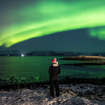 Enjoining the Northern Lights - Hofn, Iceland - Travel photography thumbnail
