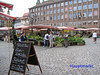 Public Market (Nuremberg) (PDX Bailey) Tags: people building sign brick cobble cobblestone stone market place hauptmarkt deutsche germany german nuremberg