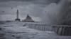 South Breakwater 14 (avaird44) Tags: supplyboat vessel sea water waves rough storm seascape coastline coast southbreakwater aberdeen scotland lighthouse beacon ship