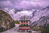 Hotel Belvedere (IRRphotography) Tags: switzerland hotel furkapass road mountains snow building belvedere swiss ch roadtrip winter clouds nature