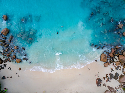 Anse Lazio Strand, Seychellen