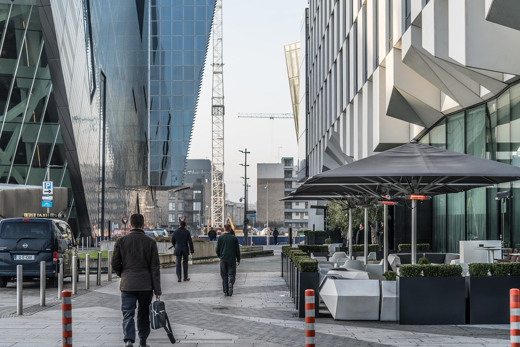 GRAND CANAL DOCK AREA OF DUBLIN [PHOTOGRAPHED 11 JANUARY 2018]-135457