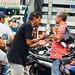 Men Arguing in Market, Caucasia Colombia