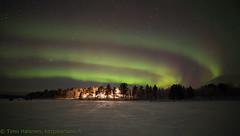 19.1.2018 (Hotel Korpikartano) Tags: green auroraborealis northernlights northernfinland revontulet korpikartanofi menesjarvi laplandfinland lappi winter