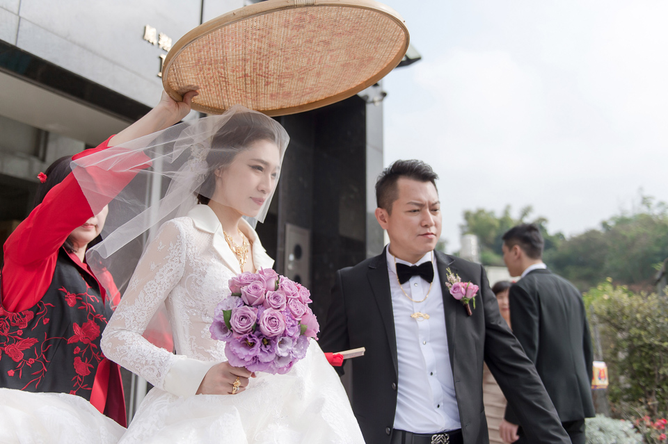 婚攝 高雄林皇宮 婚宴 時尚氣質新娘現身 S & R 074