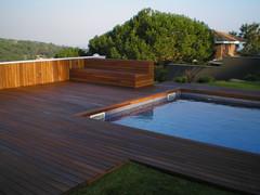 Tarima de madera para piscina en Cabrera (Park House Studio) Tags: cabrera tarima mader piscina exteriores jardin terraza madera
