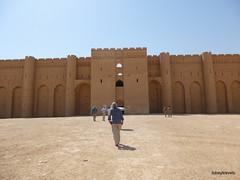 Ukhaidir Fortress (1).jpg (tobeytravels) Tags: iraq alukhaidir abbasid umayyad palace isaibnmusa gertrudebell unesco pishtaq bayts