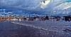Flood (Tobymeg) Tags: flood dumfries scotland nith dragan effect weather sky cloud buildings panasonic dmcfz72