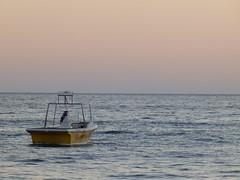 Sunset (saxofon03) Tags: sonnenuntergang boot boat meer sea rhodes rhodos horizont wasser