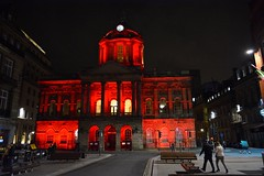 Liverpool Town Hall (James O'Hanlon) Tags: red building lit up liverpool chinese new year 2018 liverpooltownhall