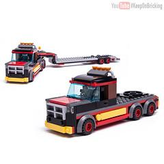 60183 alternate Big Rig (KEEP_ON_BRICKING) Tags: lego set alternate moc model 60183 truck big rig bigrig keeponbricking awesome remake remix alt alternative