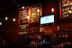 Pizza Bar (sofiainspace) Tags: bar urban beer wine tv lights pizza windsor