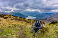 Gowbarrow Fell, Eden District, England, (January 2018) Sony ILCE-6000 by Bruscot Photography (Bruscot Photography) Tags: peaceful cumbria hayfield backpacker remote gowbarrowfell sky setting daylight english idyllic moor bright cloud hiking afternoon mountain grass rock dry tranquility england nature water lake background rambling walking view hike ullswater mountainpeak uk lakedistrict moorland shadow trail outdoors sunlight tourism track gowbarrow valley heathland path tranquil landscape terrain cloudysky serene sunny nationalpark shade fell overcast rough stormysky hill shore spring countryside bracken slope serenity solitude travel rural relaxing freedom scenic scenery outdoor europe rustic panoramic
