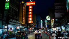 China Town, Bangkok (Lцdо\/іс) Tags: china town yaowarat bangkok street night nightcity tuktuk travel thailande thailand thailandia thai road lцdоіс lights nuit voyage