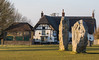 The Red Lion, Avebury (baldychops) Tags: avebury wiltshire pub publichouse redlion theredlion stones standingstones old ancient icon iconic visit winter outdoor cold chilly sun sunshine thatch thatched stone circle stonecircle history historic nationaltrust