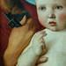 BELLINI Giovanni,1487 - La Vierge et l'Enfant entre Saint Pierre et Saint Sébastien (Louvre) - Detail 18