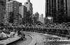 The Fountain (Zaahir Muhammad) Tags: columbuscircle nyc streetphotography fountain bw