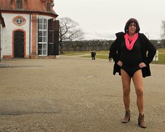 170228_51 (mathildecross) Tags: crossdress crossdressing crossdresser cd outdoor boots transvestit pantyhose park