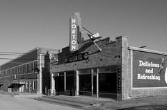 Horton Motor Company (dangr.dave) Tags: nocona tx texas downtown historic architecture montaguecounty hortonmotorcompany neon neonsign marquee horton mural coke cocacola