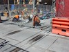 CBD and South East Light Rail_George & Hay Streets_Update 15 January 2018 (5) (john cowper) Tags: cselr sydneylightrail georgestreet haystreet haymarket capitolsquare chinatown acconia alstom junction infrastructure transportfornsw track tracklaying trackslab workers sydney newsouthwales